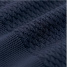 GANT - TRIANGLE TEXTURE CREW EVENING BLUE thumbnail