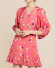 byTimo - Delicate Wrap Dress Rosa thumbnail