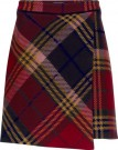 TOMMY HILFIGER - KATHLEEN MINI WRAP SKIRT RED thumbnail