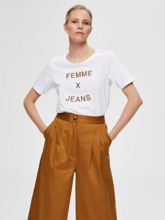 Selected Femme - Emme Ss Tee