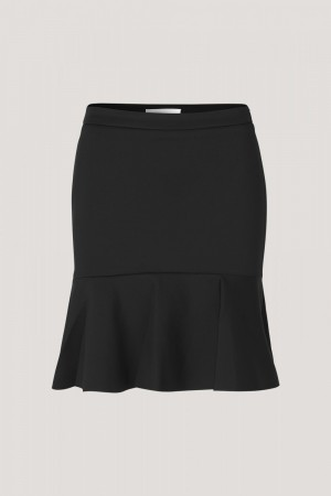 SAMSØE & SAMSØE - ISOLDE S SKIRT BLACK
