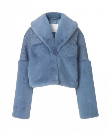SAMSØE & SAMSØE - CARLA JACKET 10158 DUSTY BLUE