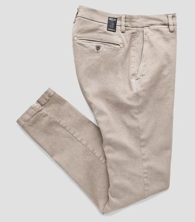 REPLAY - ZEUMAR HYPERFLEX BEIGE CHINOS