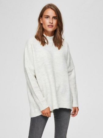 Selected Femme - Enica Ls Knit Birch