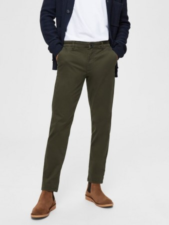 Selected Homme - Straight Newparis Flex Pant Forest Night