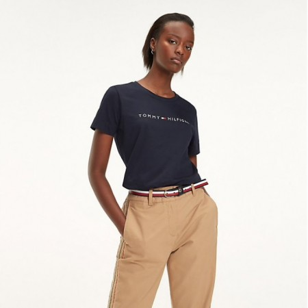 Tommy Hilfiger - Th Essential Hilfiger Crew Tee Midnight