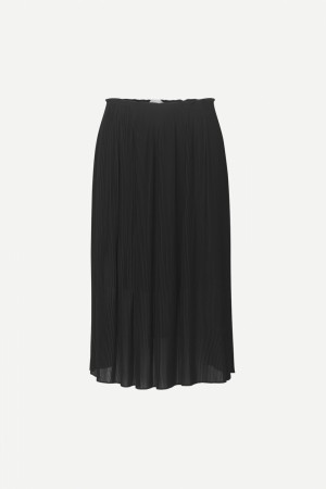 Samsøe & Samsøe - Lei Long Skirt 6621 Black