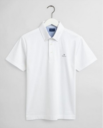 Gant - Mercerized Ss Rugger White