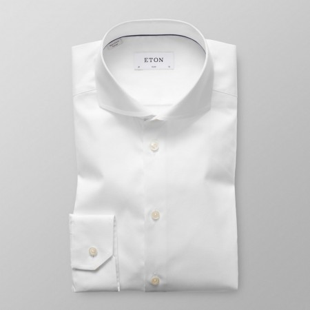 ETON - EXTREME CUT AWAY SHIRT WHITE SLIM FIT