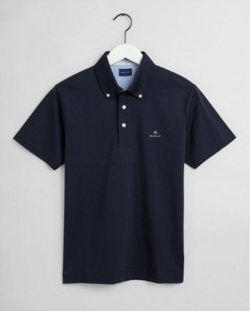 Gant - Mercerized Ss Rugger Evening Blue