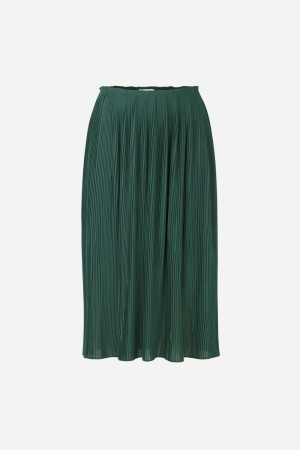 Samsøe & Samsøe - Lei Long Skirt 6621 Sea Moss