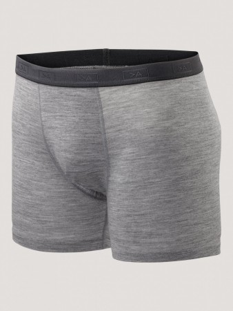 GREATER THAN A - BASE WOOL BOXER GREY MEL
