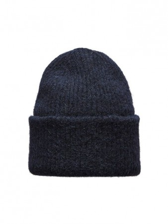 Selected Femme - Laura Knit Hat Night Sky
