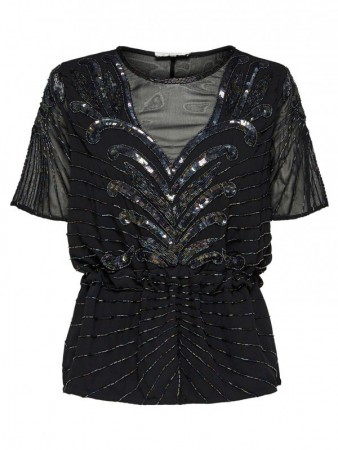 SELECTED FEMME - JUNA BEADED TOP