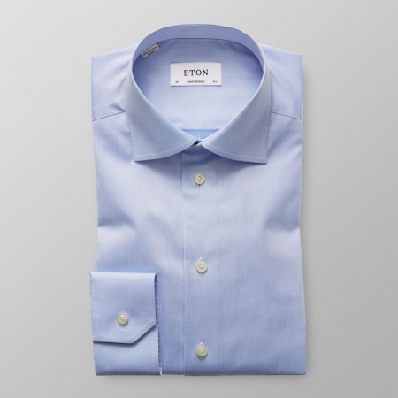 ETON - CUT AWAY SHIRT LIGHT BLUE CONTEMPORARY