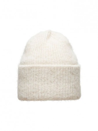 Selected Femme - Laura Knit Hat Beige