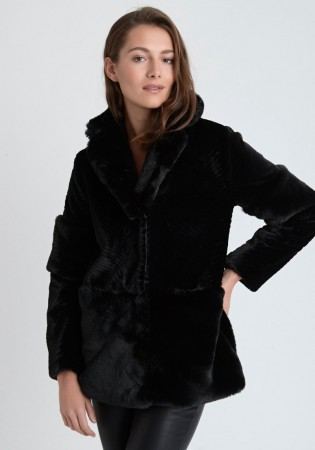 Dry Lake - Combo Jacket Faux Fur