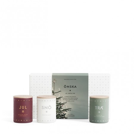 SKANDINAVISK - ÖNSKA MINI CANDLE SET
