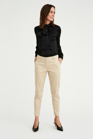 Five Units - Kylie Crop Beige Incent
