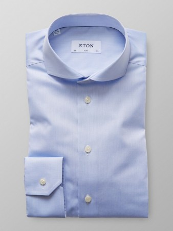 ETON - EXTREME CUT AWAY SHIRT SKY BLUE SLIM FIT