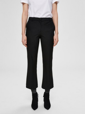 Selected Femme - Ada Mw Cropped Flared Pant